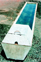 Water troughs 1
